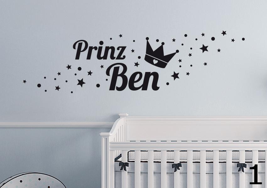 Wunschname 21//30cm Baby Geburt Kinderzimmer Deko Name Wandaufkleber WandTattoo
